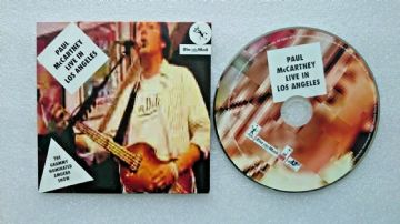 Paul McCartney Live in Los Angeles CD Audio Soundtrack